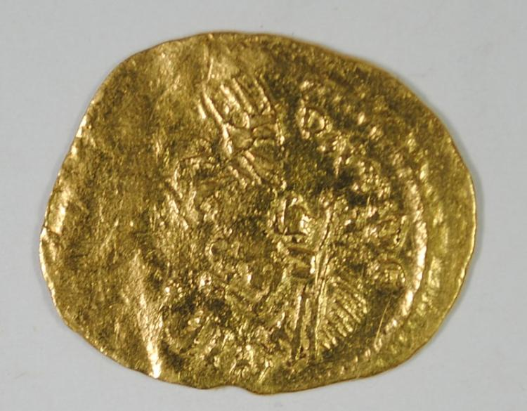 ANCIENT GOLD COIN, ROME, MAURICE TIBERIUS AV (1.47 GRAMS GOLD)