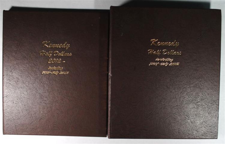 KENNEDY HALF DOLLAR SET: 1964 THRU  2012-D INCLUDES SILVER PROOFS