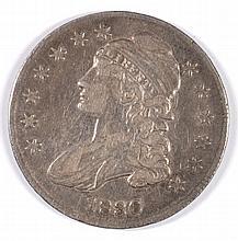 1836 BUST HALF DOLLAR VF