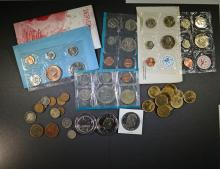 BIG BAG LOT MINT SETS, CANADIAN, LARGE 1c & MORE