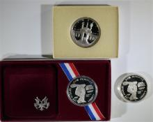 Olympic Silver Commemorative Set.