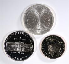 Set of 3 Commemorative Coins