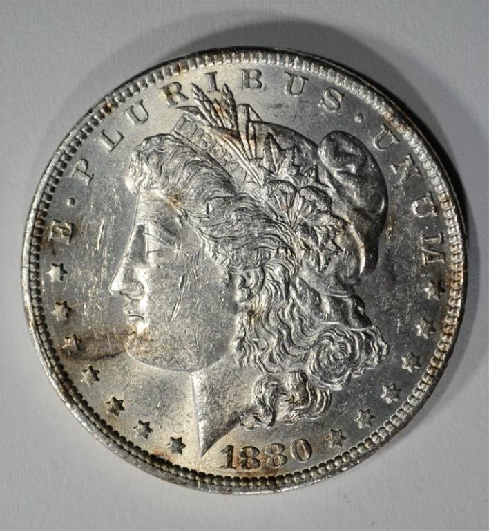 1880-O MORGAN DOLLAR BU /UNC