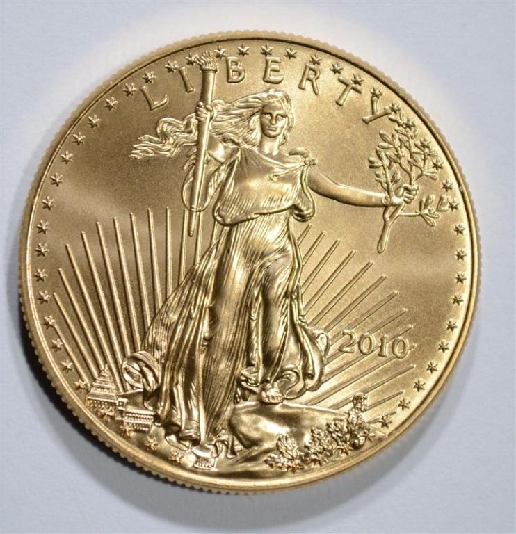 2010 AMERICAN GOLD EAGLE 1oz BU