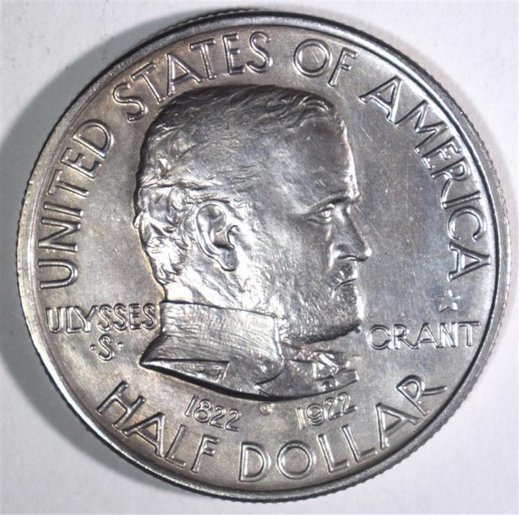 1922 GRANT STAR COMMEMORATIVE HALF DOLLAR