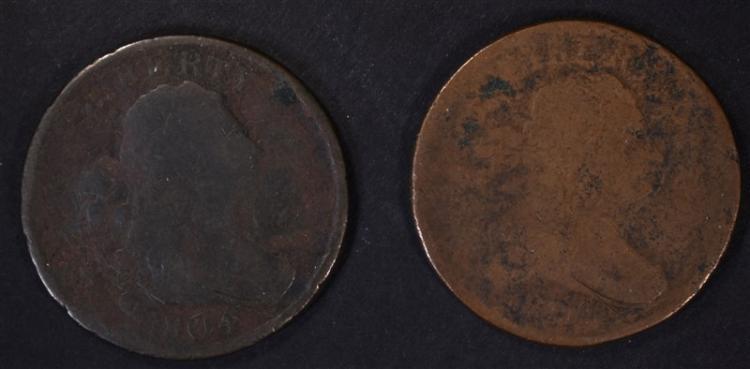 2-1804 HALF CENTS, AG/G