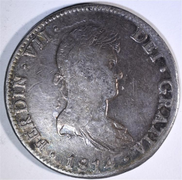 1814 MEXICO 8 REALES