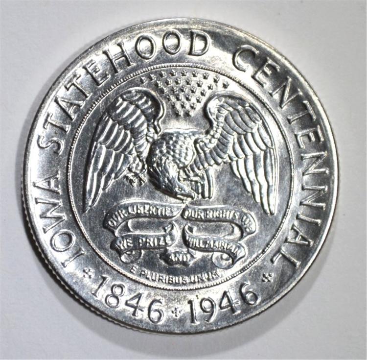 1946 IOWA HALF DOLLAR COMMEM