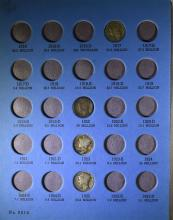 ( 33 ) DIFFERENT MERCURY DIMES IN WHITMAN COIN FOLDER