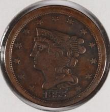 1855 HALF CENT (C-1, R-1) F/VF