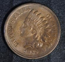 1859 INDIAN HEAD CENT, XF+  NICE!