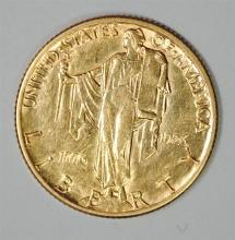 1926 $2.50 GOLD SESQUICENTENNIAL COMMEMORATIVE, BU