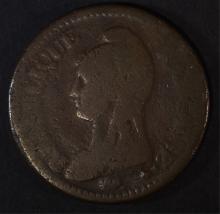 1796 FRANCE 1 DECIMES