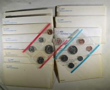 14 - U.S. MINT SETS; 1972, '73, '76, '77,