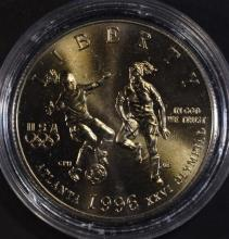 1996 UNC OLYMPIC SOCCER HALF DOLLAR