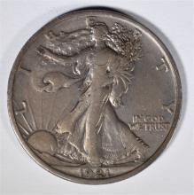 1921 WALKING LIBERTY HALF DOLLAR XF-AU  RARE, HARD TO FIND THIS NICE