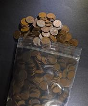 ( 1000 ) MIXED DATE CIRC LINCOLN CENT FROM THE 1910'S & 1920-'S