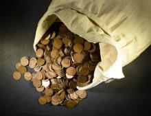 5000 LOOSE MIXED DATE CIRC LINCOLN WHEAT CENTS, TAKE ADVANTAGE OF $5.00 SHIPPING