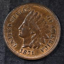 1871 INDIAN CENT BU RB