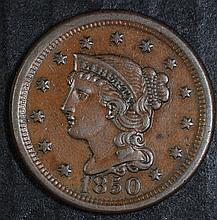1850 LARGE CENT AU  NICE