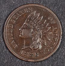 1886 INDIAN HEAD CENT, TYPE-1 XF