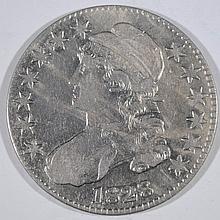 1828 CAPPED BUST HALF DOLLAR, XF