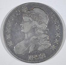 1832 CAPPED BUST HALF DOLLAR, VF