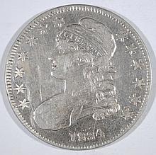 1834 CAPPED BUST HALF DOLLAR, VF