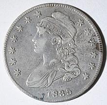 1835 CAPPED BUST HALF DOLLAR, XF