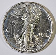 1935 WALKING LIBERTY HALF DOLLAR CHOICE BU