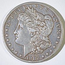 1882-CC MORGAN SILVER DOLLAR, XF
