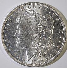 1884-O MORGAN DOLLAR CHOICE BU