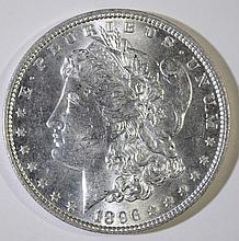 1896 MORGAN DOLLAR CHOICE BU
