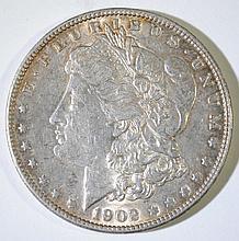 1902 MORGAN SILVER DOLLAR, BU