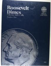 ROOSEVELT DIMES IN WHITMAN FOLDER;  SEE DESCRIPTION