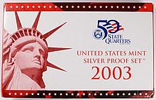 2003 U.S. SILVER PROOF SET IN ORIGINAL MINT PACKAGING