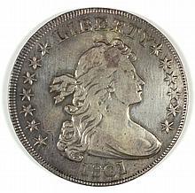 1801 BUST DOLLAR XF/AU NICE