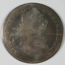 1770 Bavaria Thaler, Silver, KM #519.1