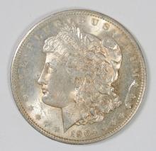 1904-O MORGAN SILVER DOLLAR - CHOICE BU+