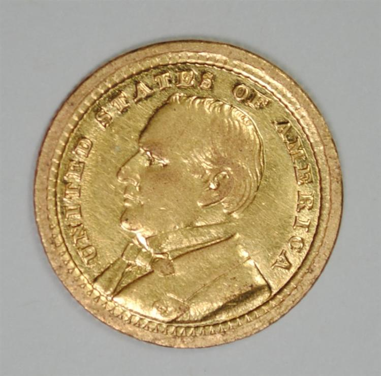 1903 McKINLEY GOLD COMMEMORATIVE DOLLAR, AU