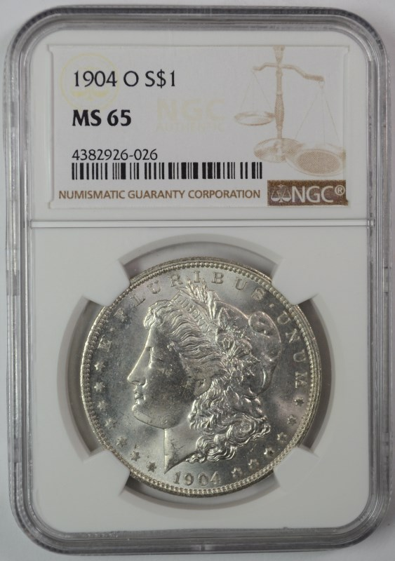 1904-O MORGAN DOLLAR NGC MS-65