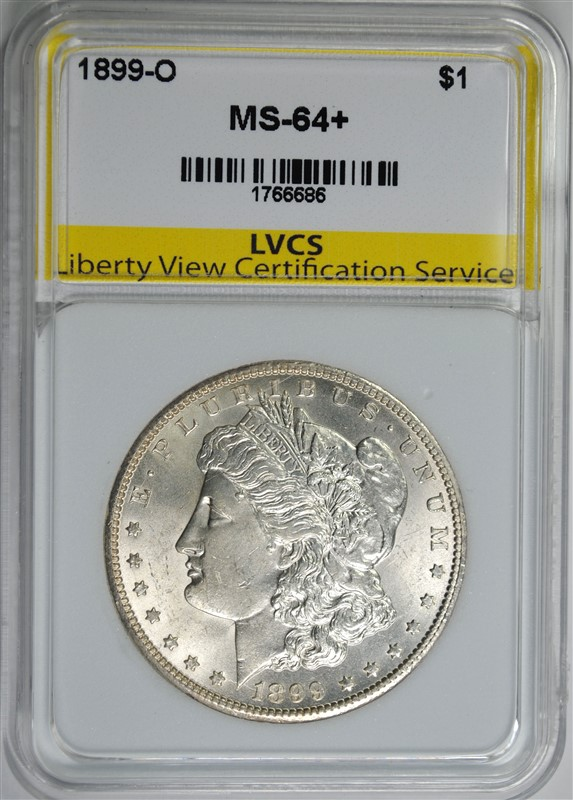 1899-O MORGAN SILVER DOLLAR LVCS CHOICE / GEM BU+