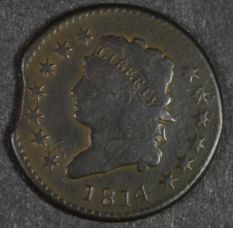1814 LARGE CENT EDGE CLIP