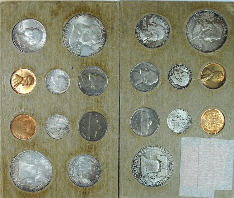 1958 MINT SET INCLUDES ORIGINAL SHIPPING ENVELOPE