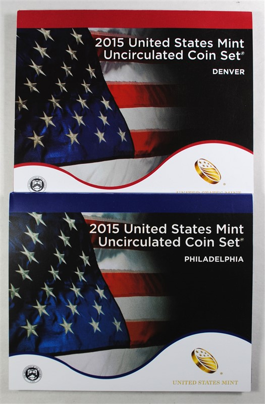 2015 U.S. MINT UNCIRCULATED SET IN ORIGINAL PACKAGING