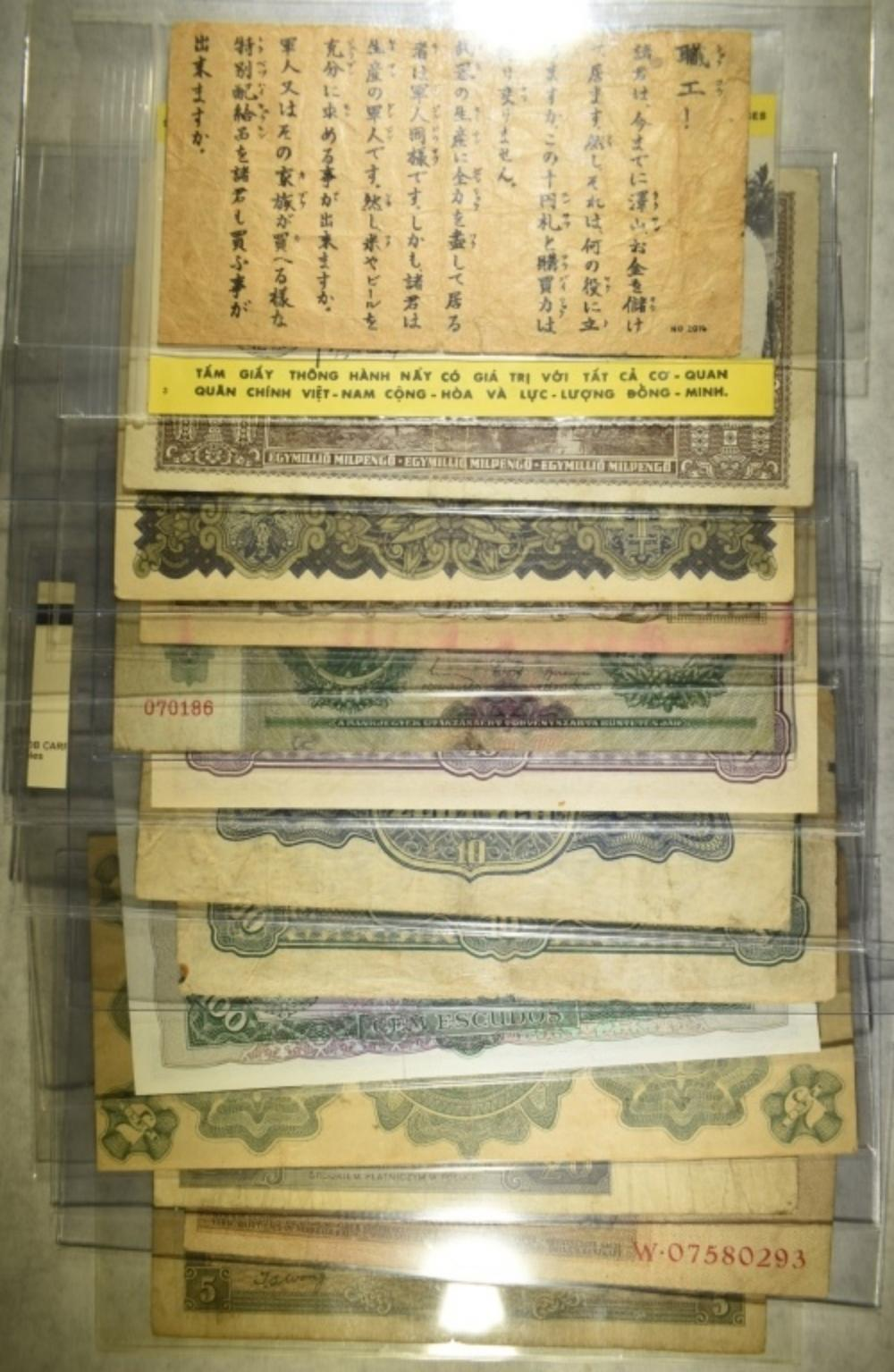 14 FOREIGN CURRENCY NOTES: