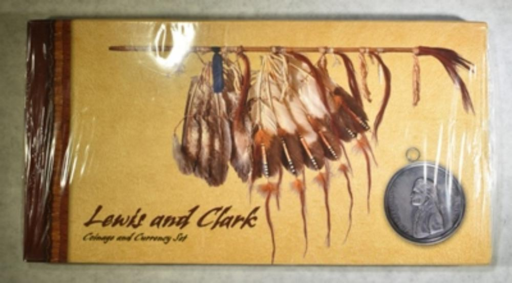 2004 LEWIS & CLARK COINAGE & CURRENCY SET