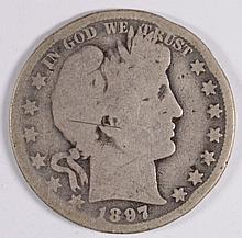 1897-O BARBER HALF DOLLAR GOOD