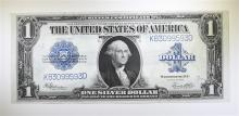 1923 $1 SILVER CERTIFICATE (FR 237) AU