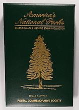 AMERICA'S NATIONAL PARKS: COLORIZED AMERICAN SILVER EAGLES, 3-2004, 4-05, 3-06